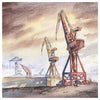 Wallsend Shipyards | Greeting Card | Tyneside Prints