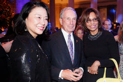 Mr. Mike Bloomberg, 's worlds richest mayor and NYC's best leader met with Misao Itoh and Patricia Reinders