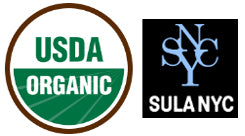 SULA NYC is now USDA organic certified.