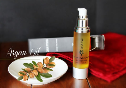 "Say bye to split ends ""Argan hair Serum"" / Adios puntas abiertas review by Dailycurlz"