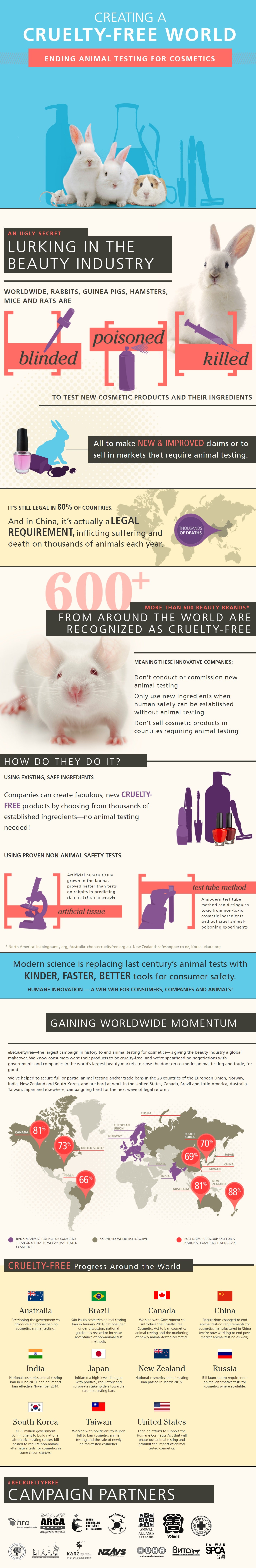 creating a cruelty free world