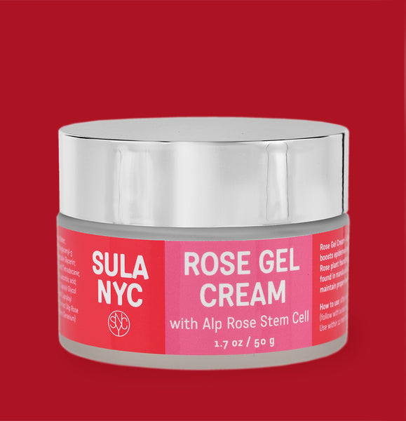 Rose Gel Cream  with Alp Rose Stem Cell
