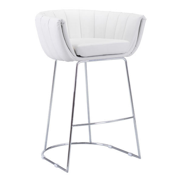 Latte Bar chair in White