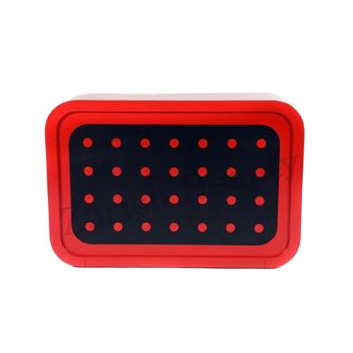 Screen Reception Desk - Red