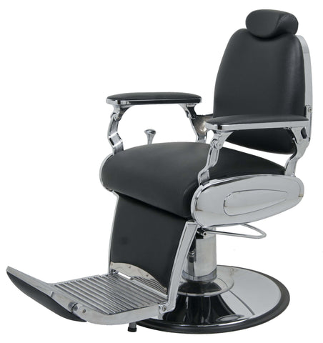 Picture of Jaguar Barber chair In Black