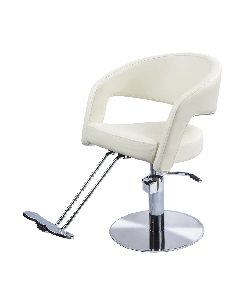 Austin Styling Chair in Ivory White