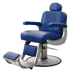 Cobalt Barber chair by Collins