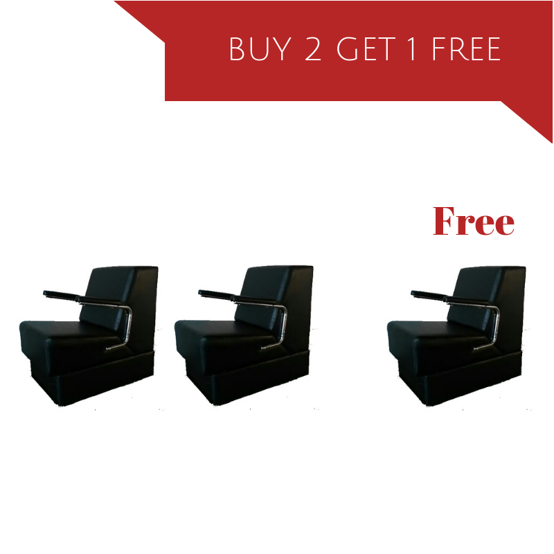 Dryer Chairs Package - Buy 2 get 1 Free - Dryer chair Black