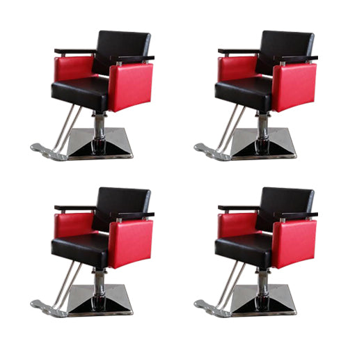 Euro Chair in Red/Black
