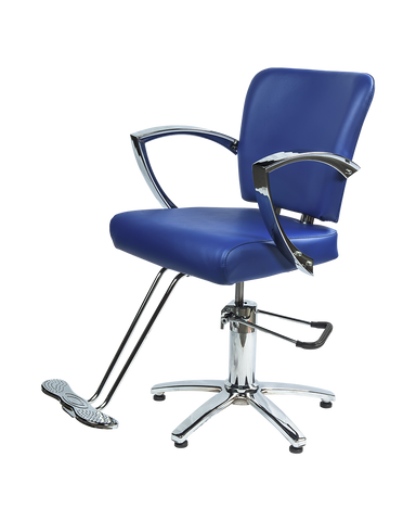 Picture of Galaxy Styling chair in Royal Blue ( 2 left in stock)