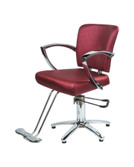 Galaxy Styling chair in Burgundy color