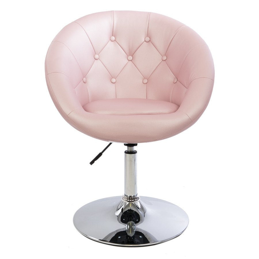 Vanity Mod Make UP Chair In Rose Gold