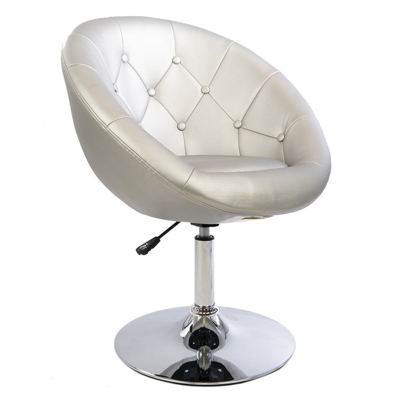Vanity Mod Make UP Chair in Silver