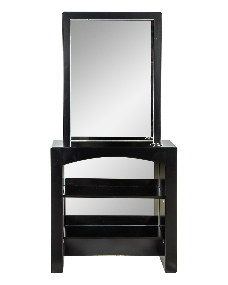 La Scala Mirror in Black