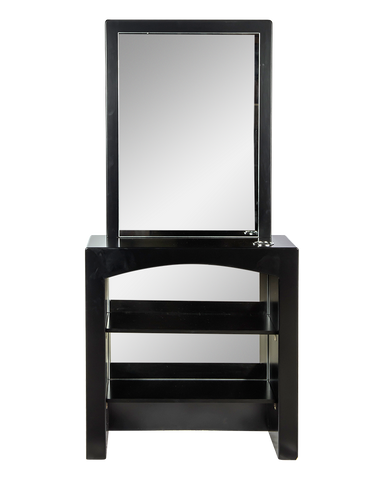 Picture of La Scala Mirror in Black