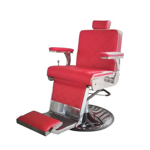 Lord Barber chair Red