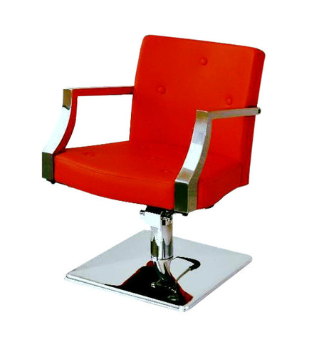 Picture of Passion Salon Chair in Red color
