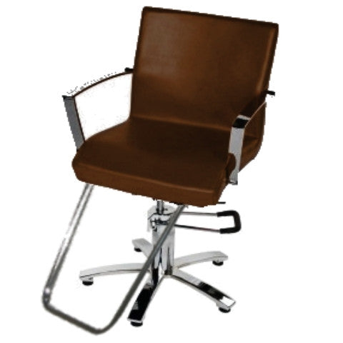 Picture of Sigma Styling Chair - Brown ONLY 2 LEFT