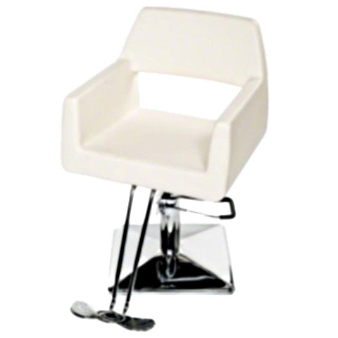 Winston Salon Chair - White