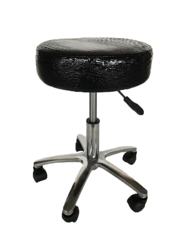 Chicago Master chair in Croc Black