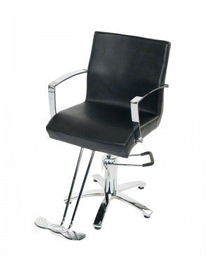 Sigma Styling Chair in Black