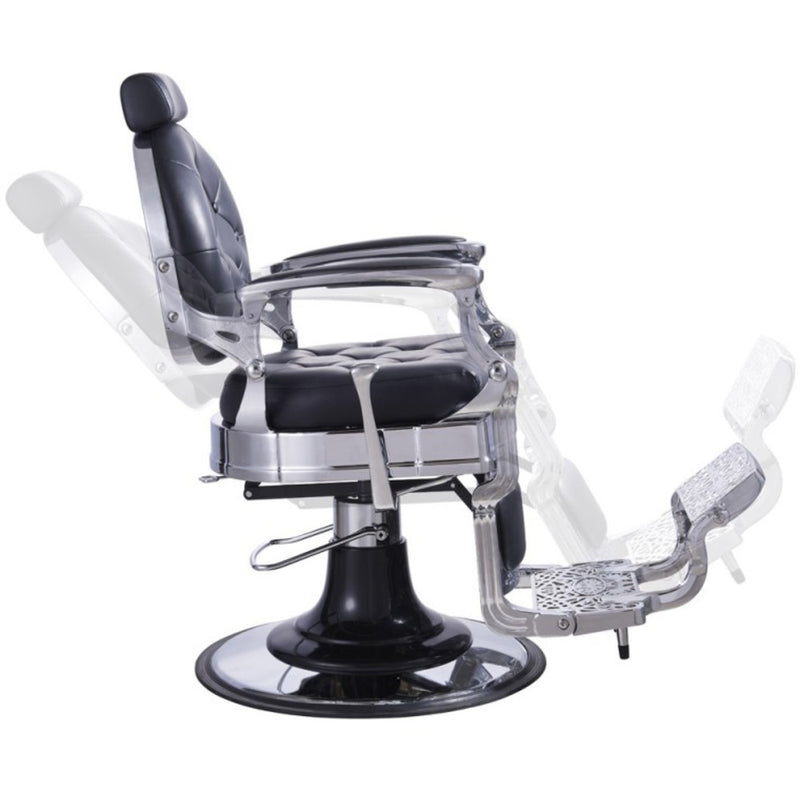 Duke Barber chair in Black