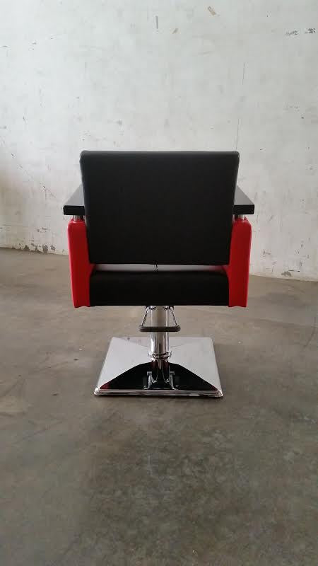 Euro Styling Chair Red and Black