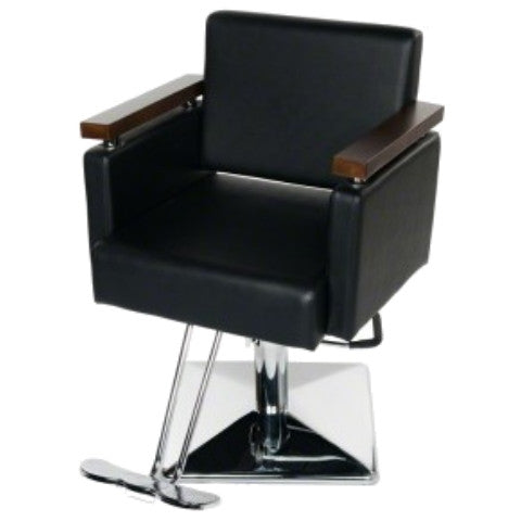 euro styling chair black