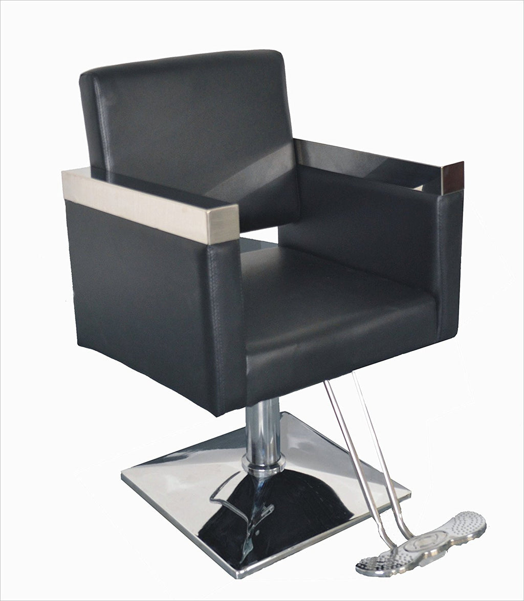 Hollywood Salon Chair - Black