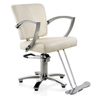 Galaxy Styling Chair in OFF WHITE
