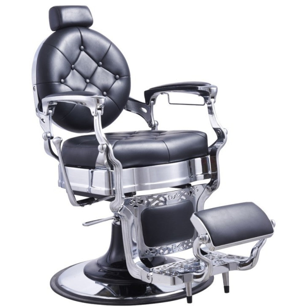 Old Barber Chairs >> Duke Barber Chair In Black