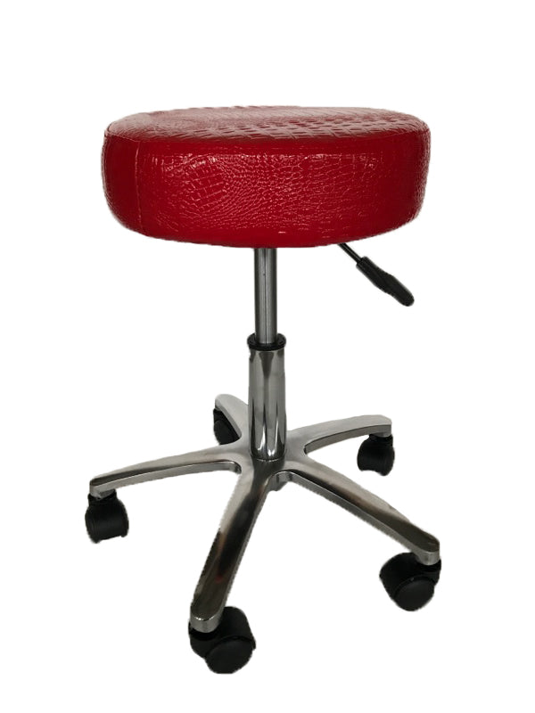 Chicago Master chair in Croc Red