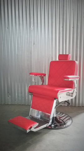 Picture of Lord Barber chair Red