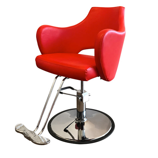 Rosa Styling Chair in Red ( one in stock)