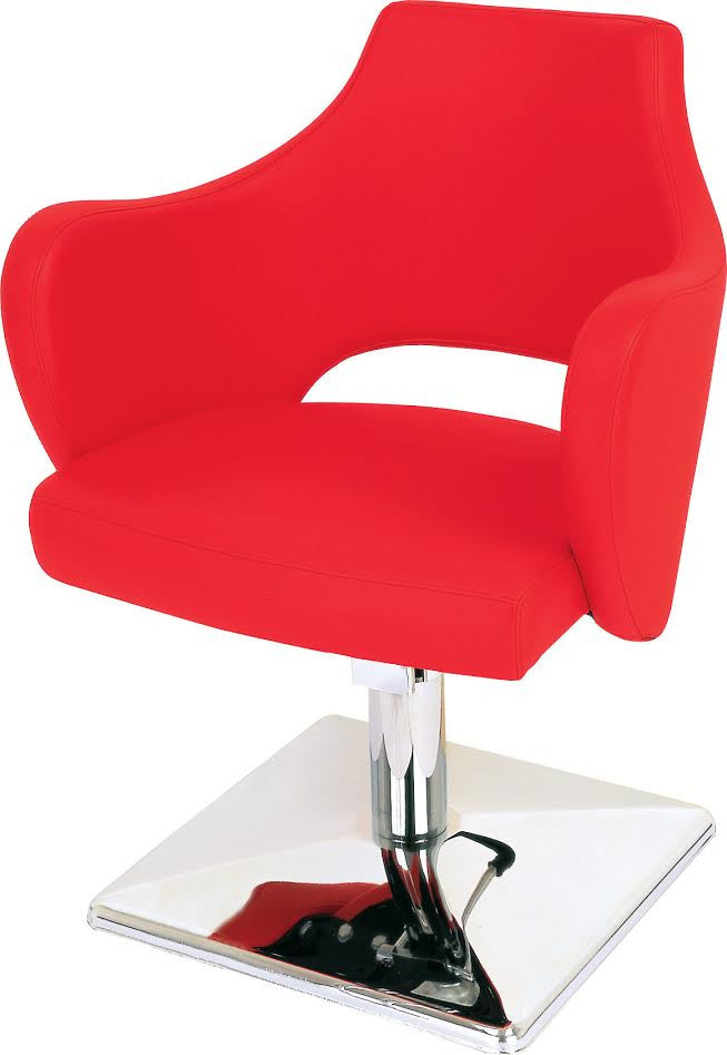 Rosa Styling Chair in Red