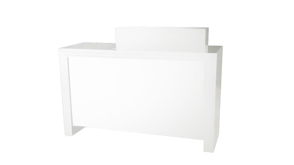 Prestige Reception Desk White