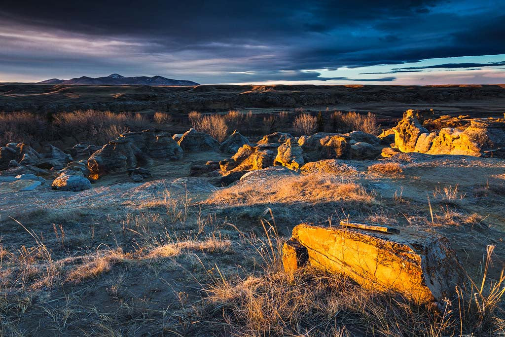 """Sweet Grass Hills"", Writing-on-stone Provincial Park"