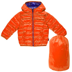 CHICCO - Leichte Thermojacke mit Beutel orange
