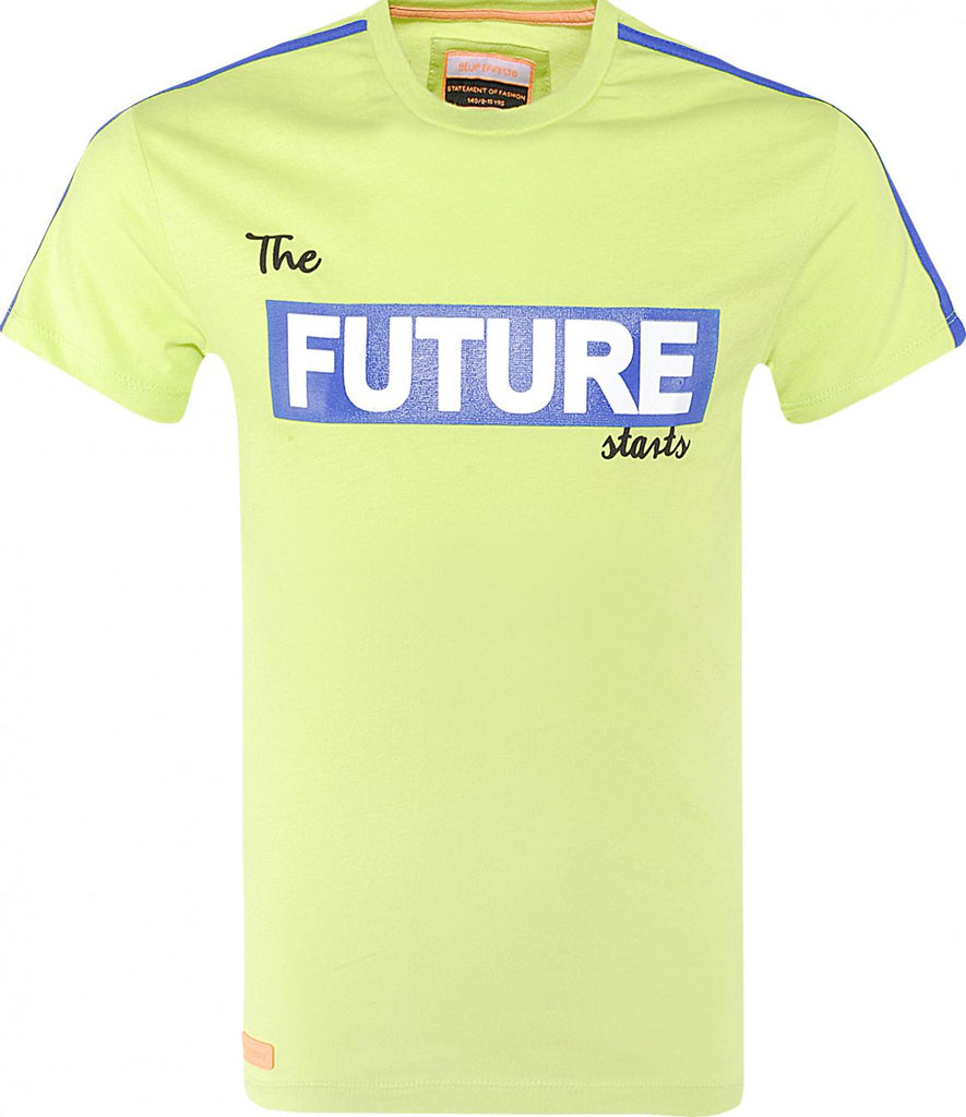 BLUE EFFECT - Shirt Boys Future Green