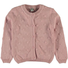 NAME IT - Strickjacke Nitbarbara dusty rose