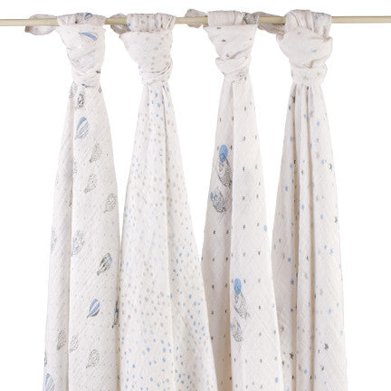 aden+anais - swaddles 4er set night sky classic