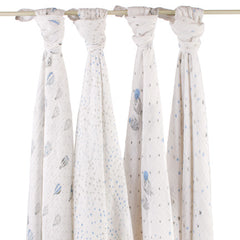 aden+anais - night sky classic swaddles 4er Set