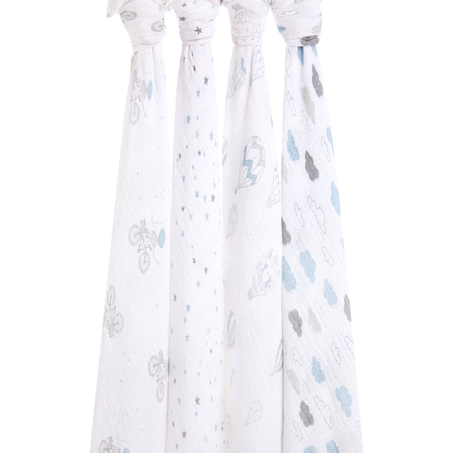 aden+anais - swaddles 4er set classic night sky reverie