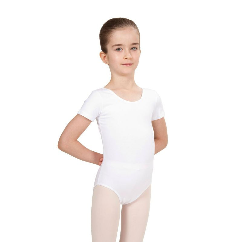 INTERMEZZO - Kurzarm Body Trikot weiss