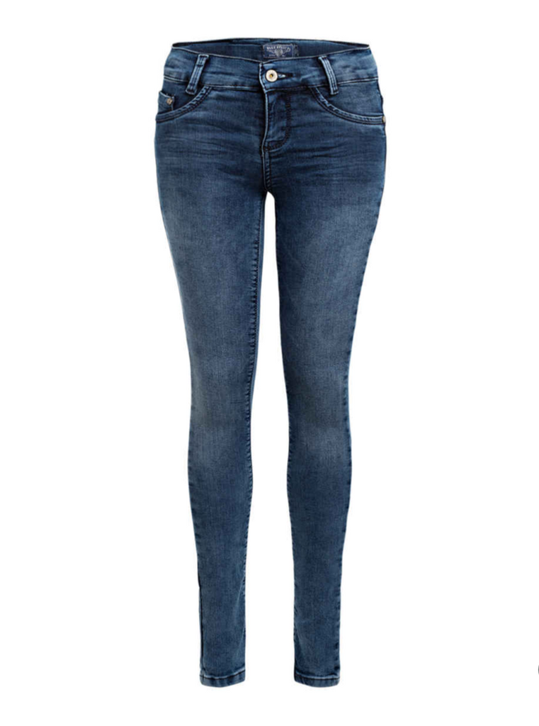 BLUE EFFECT - DSC Girls Jeans Skinny Ultra Stretch Medium Blue