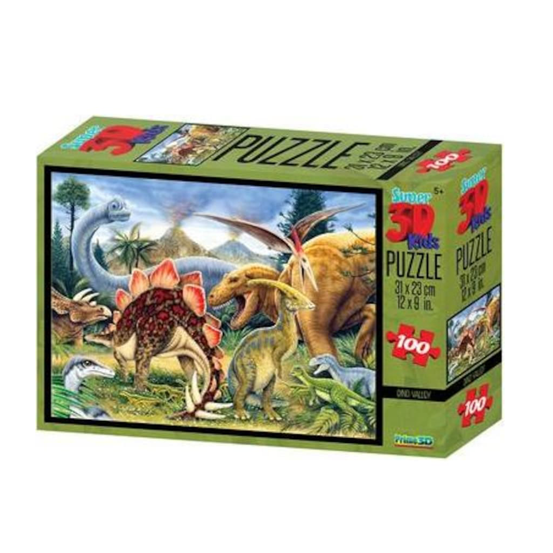 Discovery - 3D Puzzle Dinosaurier 100 Teile