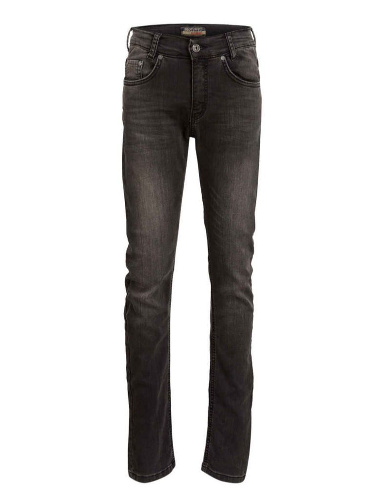 BLUE EFFECT - Boys Jeans Slim Fit Ultra Stretch black denim