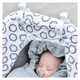 Swaddle Clip 2er Pack weiss