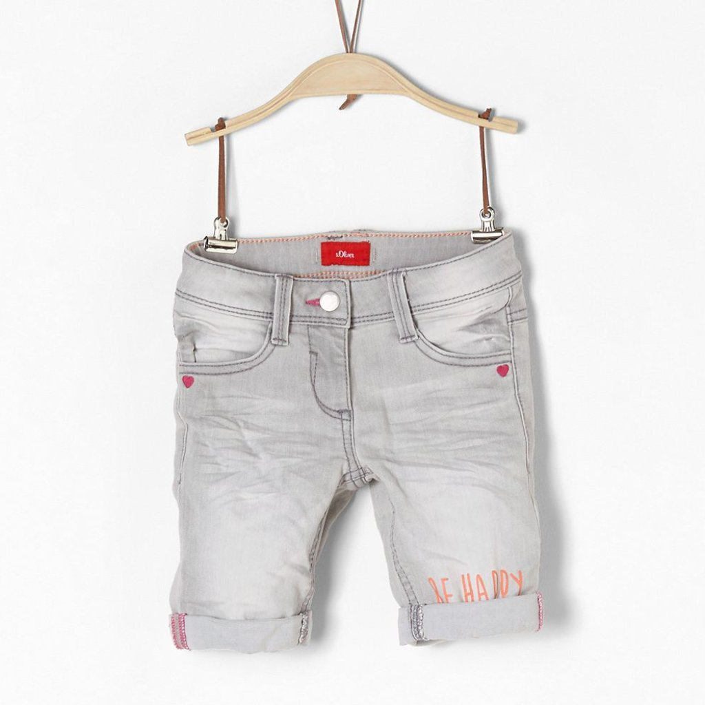 s.Oliver - Shorts Jeans Kathy im Used-Look