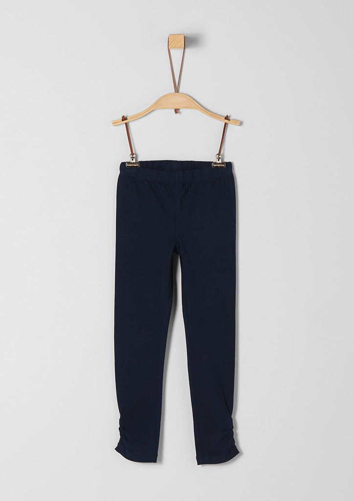 s.Oliver - Leggings Jersey navy